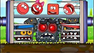 ОГО ! НОВЫЙ МУЛЬТИК ПРО КРАСНЫЙ ШАРИК ! НАПАДЕНИЕ СУПЕР БОССА ! Мультфильм про Red Ball 4 для детей