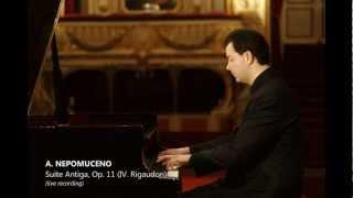 Nepomuceno : Suite Antiga (IV. Rigaudon) (Pierre Feraux)