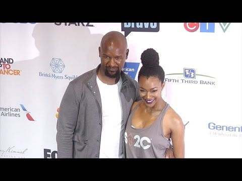 Kenric Green & Sonequa Martin 5th Biennial Stand Up To Cancer Red Carpet
