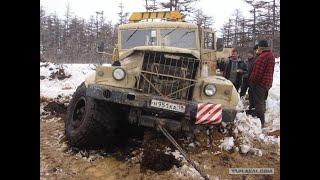Зверская мощь легендарного грузовика КРАЗ 255 Б чуто советского машиностроения