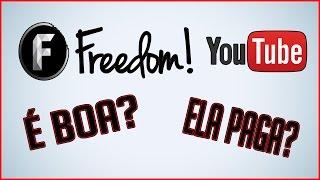 Video FREEDOM-A MELHOR NETWORK DO YOUTUBE  PARA CANAIS PEQUENOS 2017 download MP3, 3GP, MP4, WEBM, AVI, FLV September 2017
