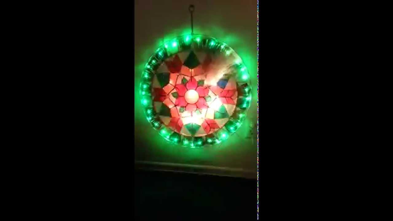 Filipino parol for sale in america - For Sale Stariray Parol Lantern Capiz Flower Design In Christmas Color Led