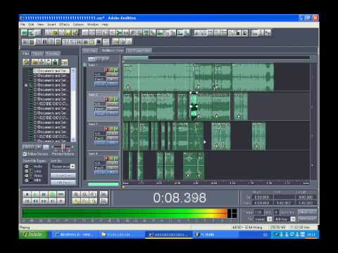 megamix djc demo adobe audition 1 5 youtube. Black Bedroom Furniture Sets. Home Design Ideas