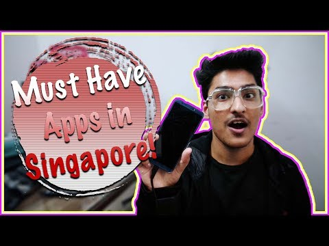 Must have Apps in SINGAPORE!