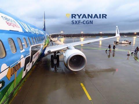 Full Flight   Ryanair 737-800 Special Livery   Berlin-Cologne