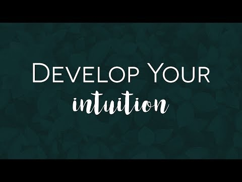INTUITION SESSION // INTUITION EXERCISES