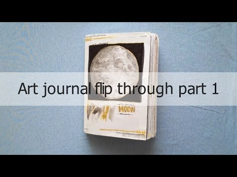 art-journal-flip-through-part-1