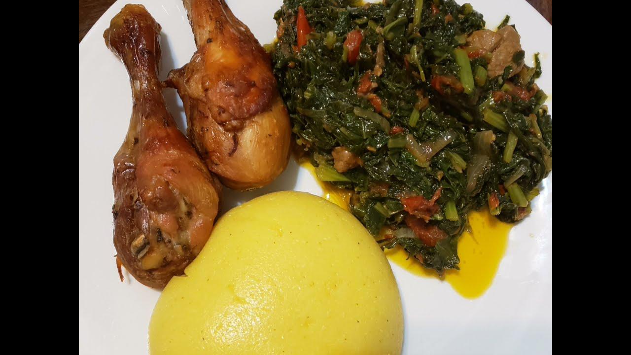 Download how I prepare  huckleberry  njama njama   vegetables