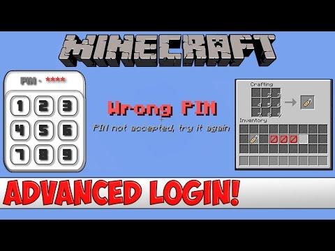 Minecraft Plugin Tutorial - Advanced Login