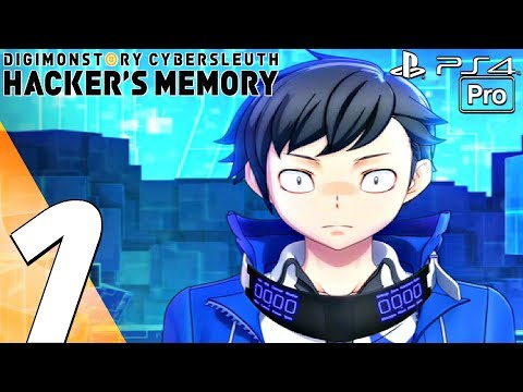 Digimon Story Hacker's Memory - Gameplay Walkthrough Part 1 - Prologue (Full Game) PS4 PRO