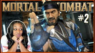 YOU CAN'T TOUCH ME!!! | Mortal Kombat 11 Story Mode Episode 2