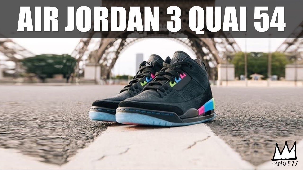 1640dcbf11216c FIRST LOOK   RELEASE DETAILS AIR JORDAN 3 QUAI 54