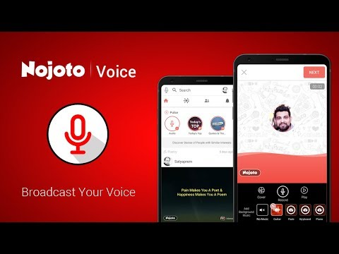 Broadcast Your Voice & Share Poetry , Poem, Storytelling , Music | Nojoto Voice