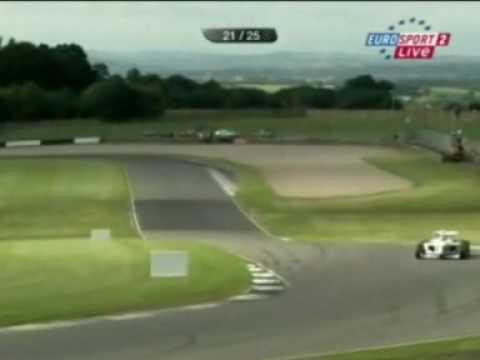 Donington Race Two - Bortolotti vs Soucek