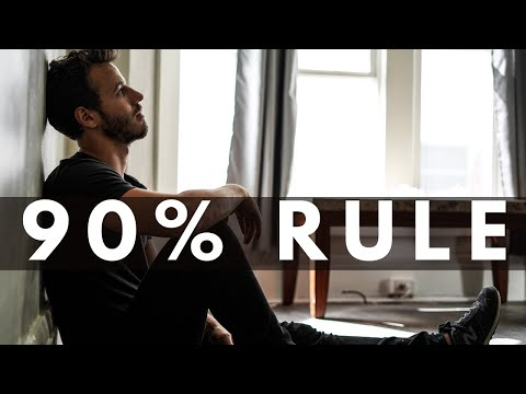 The 90% Rule Of Minimalism