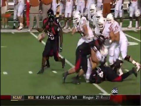 Texas Tech vs Texas Highlights 2008