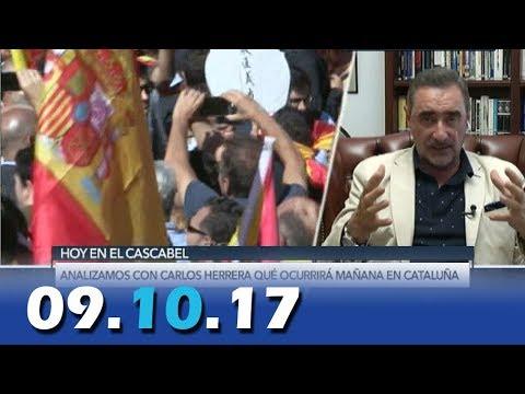 El Cascabel 13tv 09.10.17 Análisis de Carlos Herrera | Polémica Pablo Casado | Gonzalo Bernardos