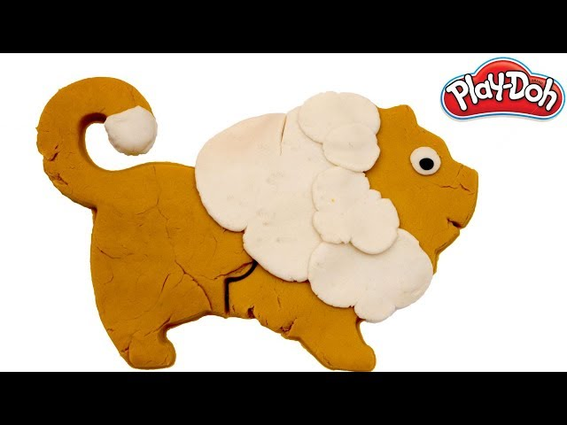 Learn Colors | How to make a play-doh Lion | Play-doh Lion |
