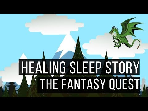 The Fantasy Quest: Long Hypnotic Bedtime Story for Grown Ups (Sleep Story)