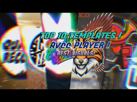 TOP 10 BEST PRO LEGENDARY TEMPLATES AVEE PLAYER [ TRIBAL TRAP,TRAP WOLVES,TRAP NATION,RAINY BASS ]