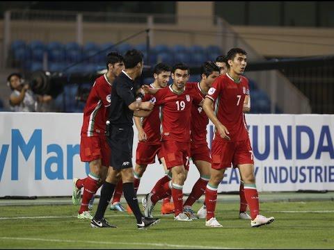 Uzbekistan vs Iran (AFC U-19 Championship 2016: Quarter-finals)