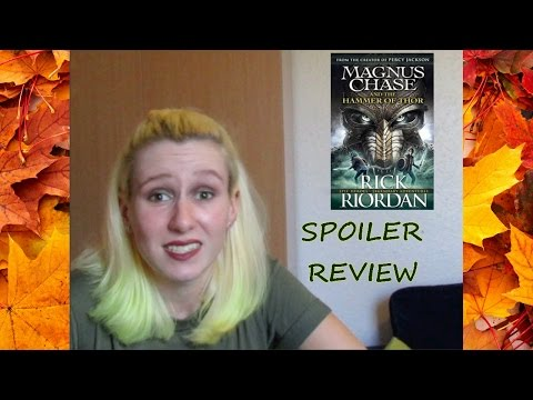 SPOILER REVIEW Magnus Chase and the Hammer of Thor| Social Issues, Characters, Prediction