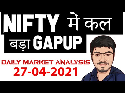 NIFTY PREDICTION U0026 BANKNIFTY ANALYSIS FOR 27 APRIL - NIFTY TARGET FOR TOMORROW MR.SCALPER