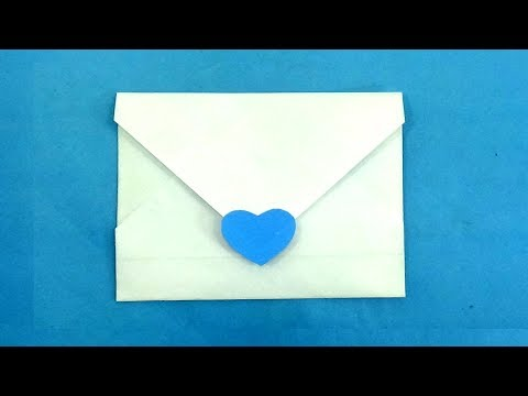 New Paper Envelope Making Origami Diy Tutorial Easy Without Glue Or Tape And Scissors But Fold