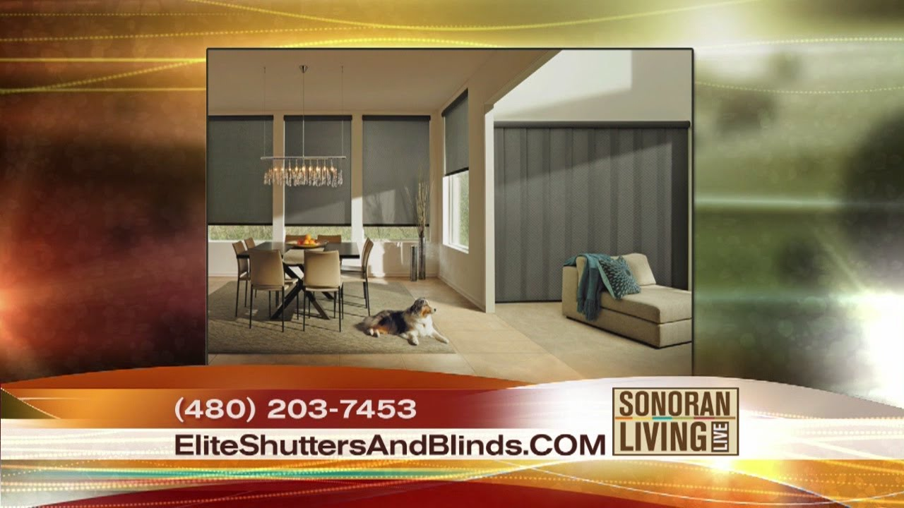 Window treatments go high tech with Elite Shutters and Blinds