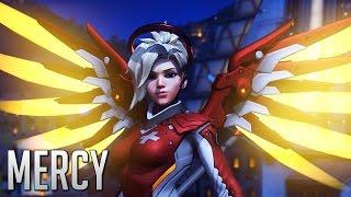 Overwatch - Como é bom jogar de Mercy