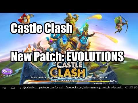 Castle Clash: New Patch: EVOLUTION Hits English Version!