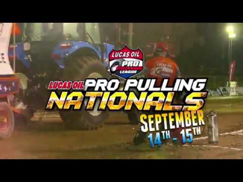September 14th-15th, 2018: Lucas Oil Pro Pulling Nationals