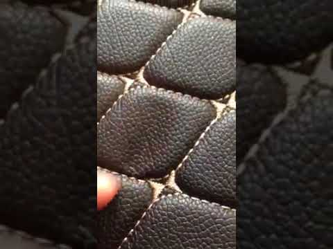 Manicci Luxury Custom Fitted Car Mats Demo Black Diamond Beige