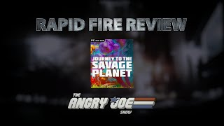 Journey to the Savage Planet Rapid Fire Review!