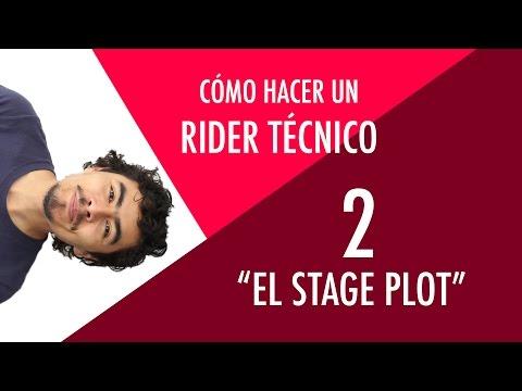 Cómo hacer un rider: El Stage Plot