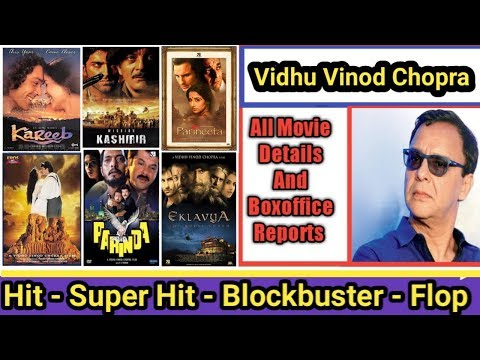 Director Vidhu Vinod Chopra Box Office Collection Analysis Hit And Flop Blockbuster All Movies List Mp3