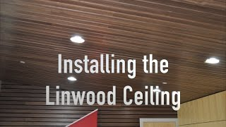 Linwood Ceiling Install by Acoustigreen and Architectural Surfaces