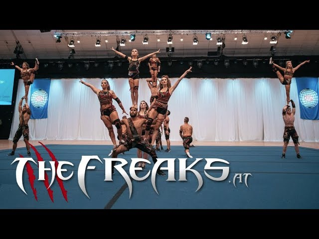 THE FREAKS - Acrobatics Showteam AUSTRIA / World Gym for Life Norway 2017