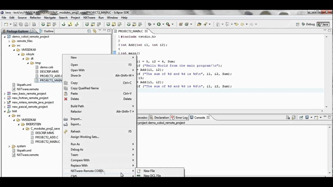 Remote Debugging with NXTware Remote and Eclipse