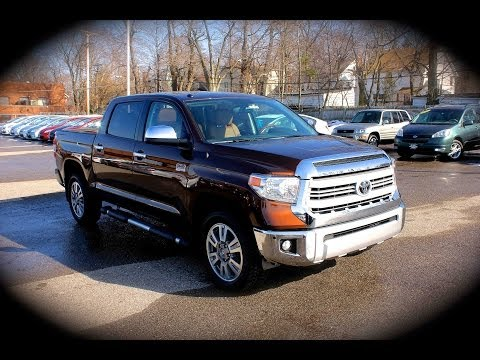 2014 Toyota Tundra 1794 Edition 4x4 5 7l Start Up Review