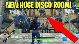 "New ""MASSIVE DISCO ROOM"" Found in Fortnite Season 4! (SECRET LOCATION)"
