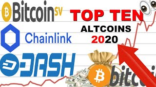 TOP TEN ALTCOINS TO EXPLODE IN 2020 (TOP 10 BEST ALTCOINS TO BUY)
