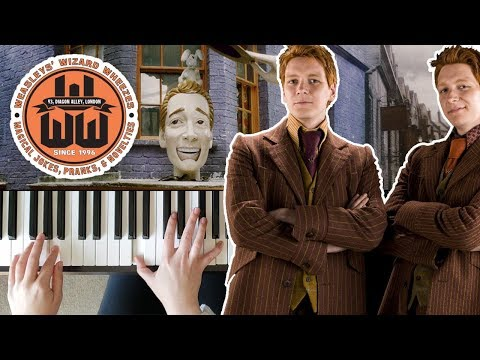 Wizard Wheezes - Harry Potter and the Half-Blood Prince || PIANO COVER mp3