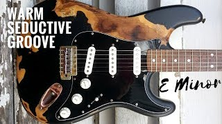 Seductive Groove | Guitar Backing Track Jam in Em