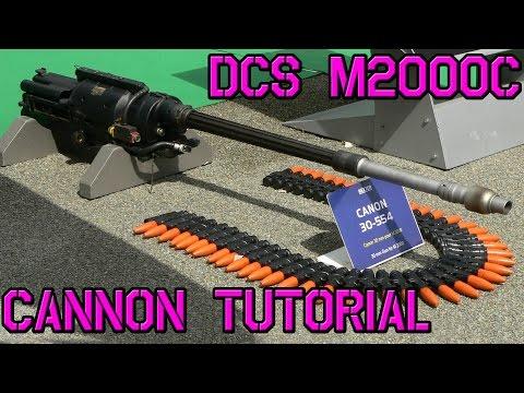 DCS: M2000C Cañon DEFA 554 #13 Tutorial - English subtitles