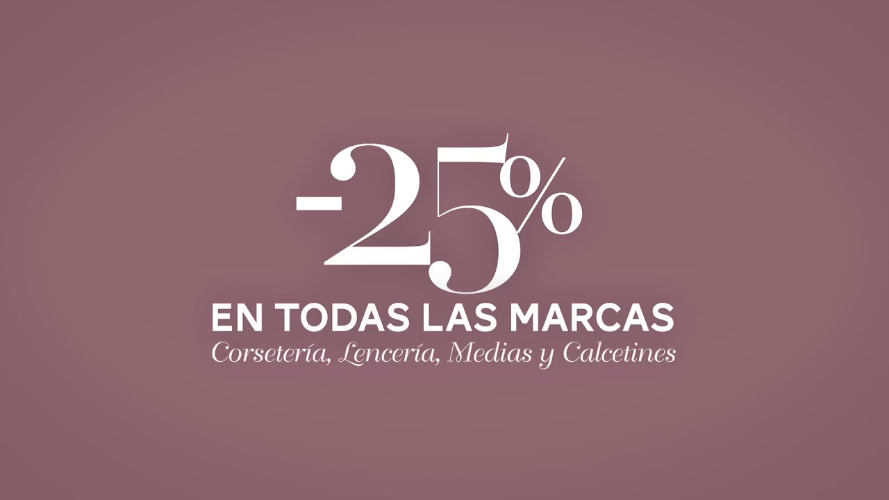 distribuidor mayorista ef2e8 24437 Semana de la lencería en El Corte Inglés