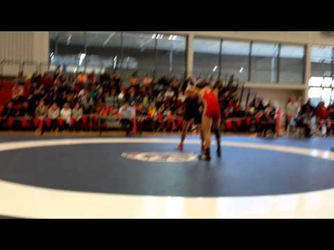 2015 Junior National Championships: 84 kg Bronze Joban Phulka vs. Geno Poirier