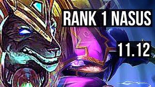 NASUS vs KENNEN (TOP) | Rank 1 Nasus, Quadra, Dominating | KR Challenger | v11.12