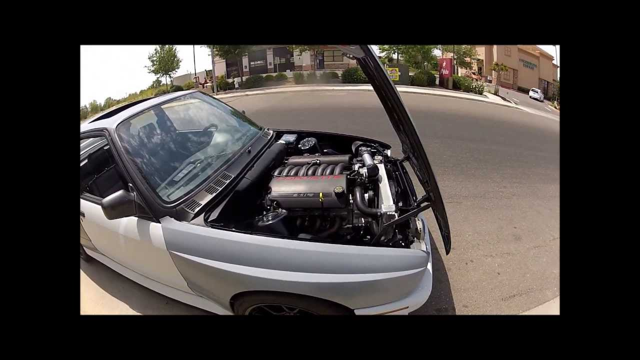BMW M3 E30 >> BMW E30 M3 LS1 - YouTube