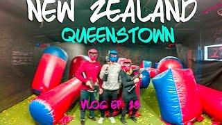 Kinging-it New Zealand Vlog Ep. 23: Queenstown | Escape Quest |reball | Workout